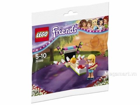 Hình ảnh vỏ hộp bộ Lego Friends 30399 - Bowling Trong Công Viên Giải Trí