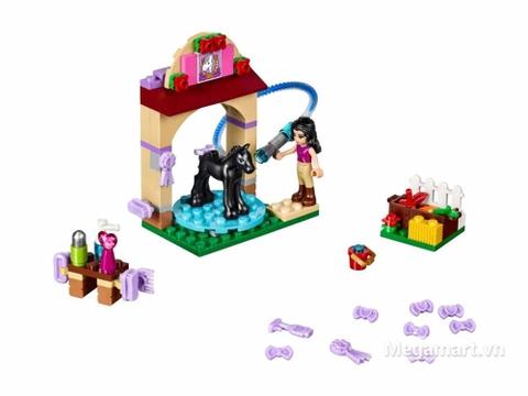 Lego Friends 41123 - Trạm tắm ngựa - toàn bộ các chi tiết