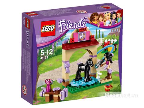 Ảnh bìa sản phẩm Lego Friends 41123 - Trạm tắm ngựa