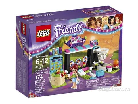 Vỏ hộp Lego Friends 41127 - Công viên giải trí điện tử