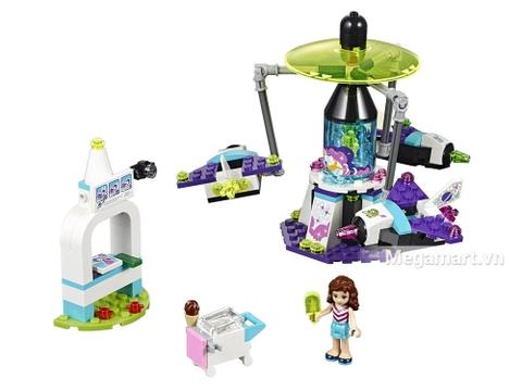 Chi tiết bộ Lego Friends 41128 - Công viên giải trí du hành không gian