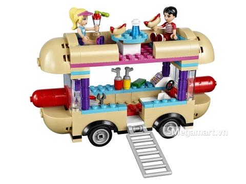Đồ chơi Lego Friends 41129 - Cửa hàng ăn vặt lưu động