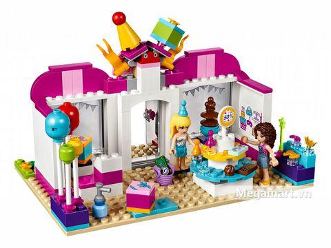 Các mô hình có trong Lego Friends 41132 - Cửa hàng phụ kiện Heartlake