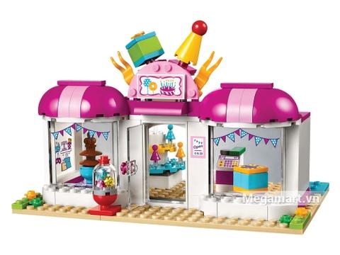 Lego Friends 41132 cùng bé trang hoàng bữa tiệc sinh nhật