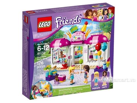 Hình ảnh vỏ hộp bộ Lego Friends 41132 - Cửa hàng phụ kiện Heartlake