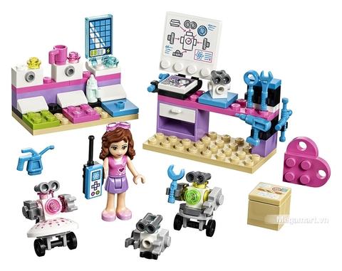 Các mô hình ấn tượng trong bộ Lego Friends 41307 - Phòng thí nghiệm của Olivia
