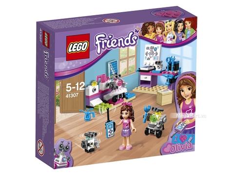 Hình ảnh vỏ hộp bộ Lego Friends 41307 - Phòng thí nghiệm của Olivia