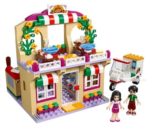 Các mô hình ấn tượng trong bộ Lego Friends 41311 - Tiệm bánh Pizza Heartlake