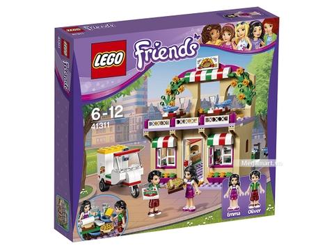 Hình ảnh vỏ hộp bộ Lego Friends 41311 - Tiệm bánh Pizza Heartlake