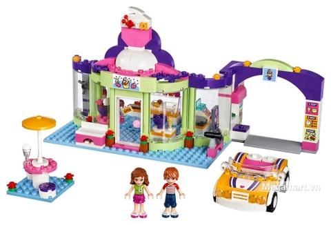Lego Friends 41320 - Cửa Hàng Yougurt Heartlake đồ chơi con gái