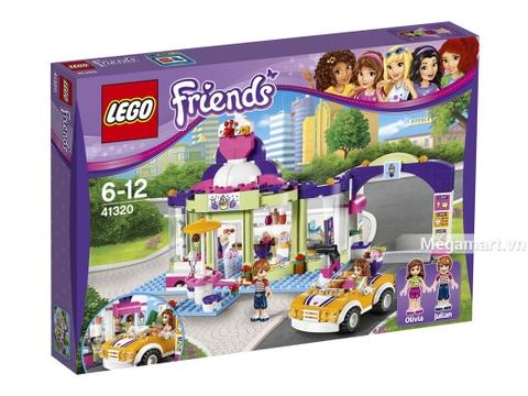 Lego Friends 41320 - Cửa Hàng Yougurt Heartlake Vỏ hộp