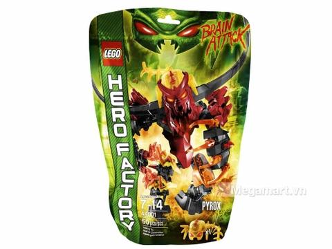 Vỏ hộp đồ chơi Lego Hero factory 44001 - Pyrox