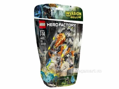Vỏ hộp đồ chơiLego Hero Factory 44025 - Cỗ máy khoan của Bulk