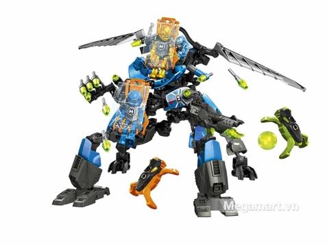 Lego Hero Factory 44028 - Cỗ máy chiến đấu của Surge và Rocka - mô hình nổi bật
