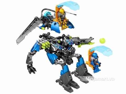 Lego Hero Factory 44028 - Cỗ máy chiến đấu của Surge và Rocka - mô hình chi tiết