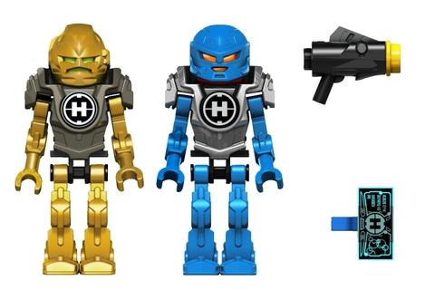 Lego Hero Factory 44028 - Cỗ máy chiến đấu của Surge và Rocka - 2 nhân vật chính