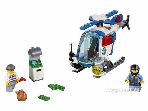 Lego Juniors 10720 - Trực Thăng Cảnh Sát Bắt Cướp - các chi tiết trong sản phẩm