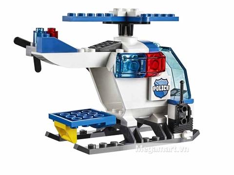 Lego Juniors 10720 - Trực Thăng Cảnh Sát Bắt Cướp - trực thăng cảnh sát