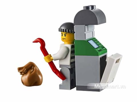 Lego Juniors 10720 - Trực Thăng Cảnh Sát Bắt Cướp - tên trộm
