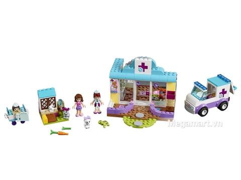Chi tiết bộ Lego Juniors 10728 – Phòng khám thú cưng của Mia