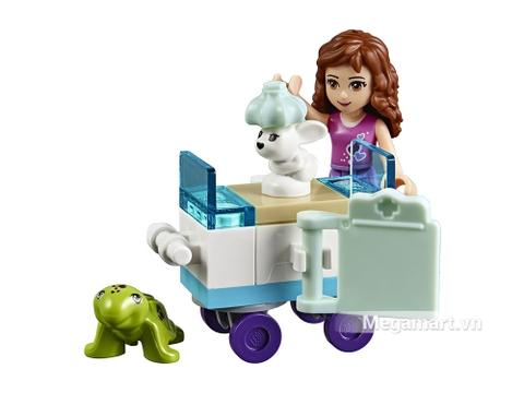 Lego Juniors 10728 có mảnh ghép an toàn, giúp bé phát triển