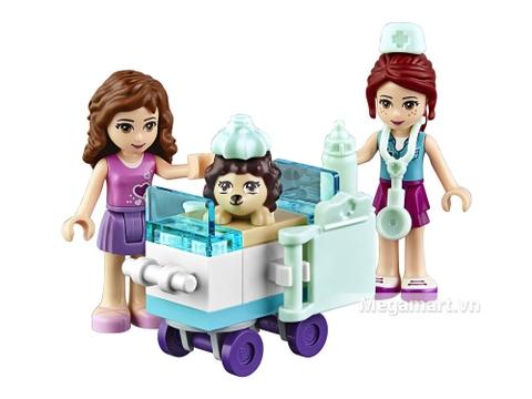 Các mô hình có trong Lego Juniors 10728 - Phòng khám thú cưng của Mia