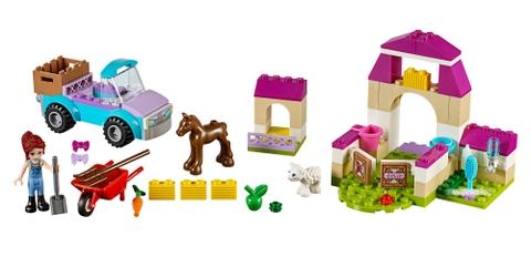 Các mô hình ấn tượng trong bộ Lego Juniors 10746 - Vali nông trại của Mia