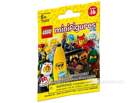 Hình ảnh vỏ hộp bộ Lego Minifigures 71013 - Nhân vật Lego số 16