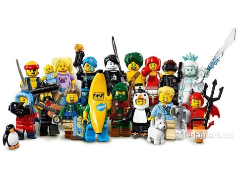 Thoả sức khám phá cùng Lego Minifigures 71013 - Nhân vật Lego số 16