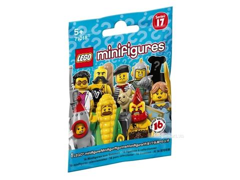 Hình ảnh vỏ ngoài của Lego Minifigures 71018 - Nhân vật Lego số 17
