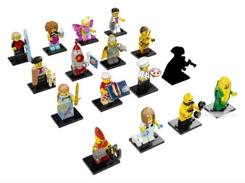 Bộ sưu tập 20 nhân vật của Lego Minifigures 71018 - Nhân vật Lego số 17