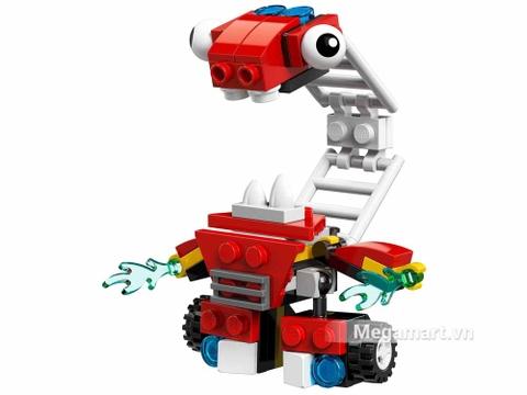 Các mô hình ấn tượng trong bộ Lego Mixels 41565 - Thang cứu hỏa hay quên Hydro