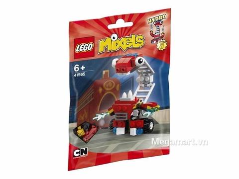 Hình ảnh túi đựng màu đỏ bên ngoài sản phẩm Lego Mixels 41565 - Thang cứu hỏa hay quên Hydro