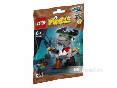 Hình ảnh vỏ hộp bộ Lego Mixels 41566 - Thuyền trưởng cá mập Sharx
