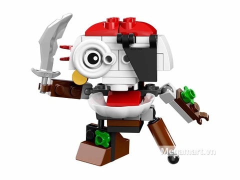 Mô hình Lego Mixels 41567 - Cướp biển móc túi Skulzy độc và lạ