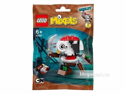 Túi đựng bộ xếp hình Lego Mixels 41567 - Cướp biển móc túi Skulzy