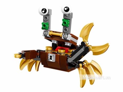 Các mô hình ấn tượng trong bộ Lego Mixels 41568 - Rương kho báu Lewt