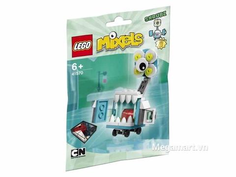 Hình ảnh vỏ hộp bộ Lego Mixels 41570 - Đèn chiếu di động Skrubz