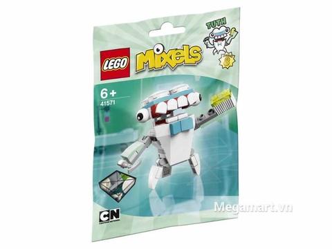 Túi đựng bên ngoài sản phẩm Lego Mixels 41571 - Nha sĩ Tuth