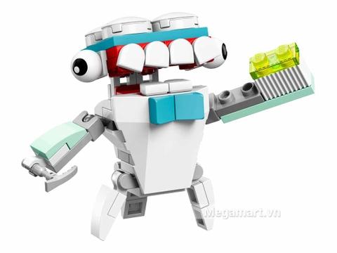 Bộ xếp hình Lego Mixels 41571 - Nha sĩ Tuth với chủ đề nha sĩ thú vị cho bé