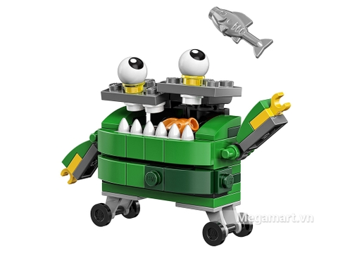 Điểm đặc biệt trong bộ xếp hình Lego Mixels 41572 - Thùng rác thông minh Gobbol