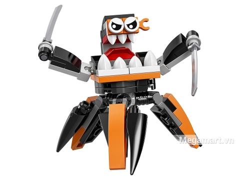 Điểm đặc biệt trong bộ xếp hình chủ đề Lego Mixels
