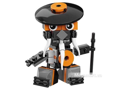 Các mô hình ấn tượng trong bộ Lego Mixels 41577 - Ninja thông thái Mysto