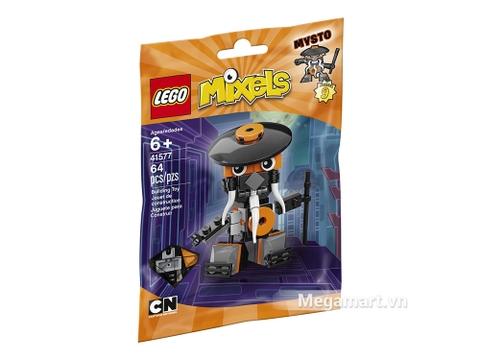 Hình ảnh vỏ hộp bộ Lego Mixels 41577 - Ninja thông thái Mysto