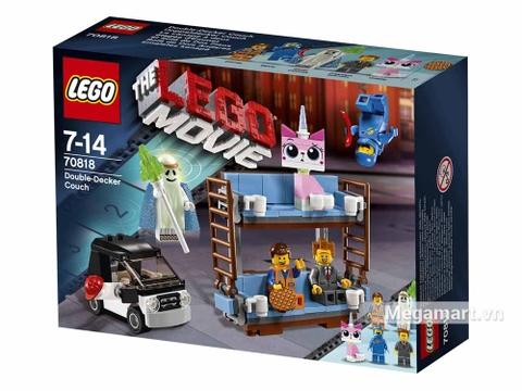 Lego Movie 70818 - Giường hai tầng - ảnh bìa sản phẩm