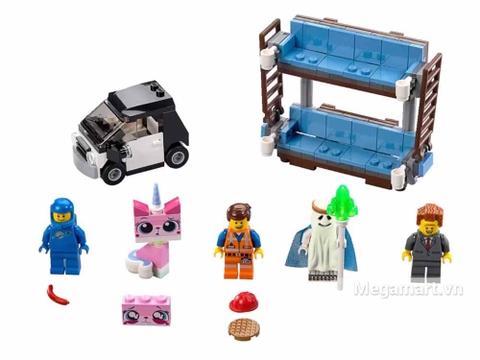 Lego Movie 70818 - Giường hai tầng - các nhân vật trong bộ đồ chơi