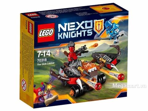 Lego Nexo Knights 70318 - Xe tấn công quỷ dữ - ảnh bìa sản phẩm