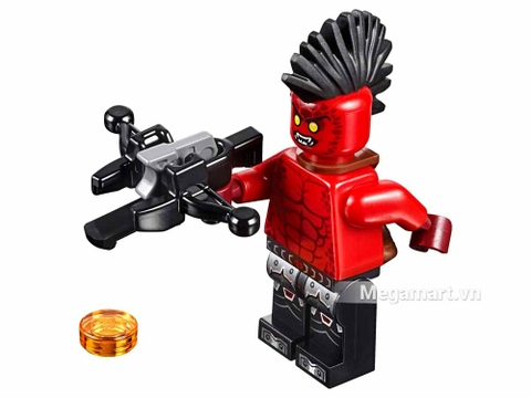 Lego Nexo Knights 70318 - Xe tấn công quỷ dữ - nhân vật chính
