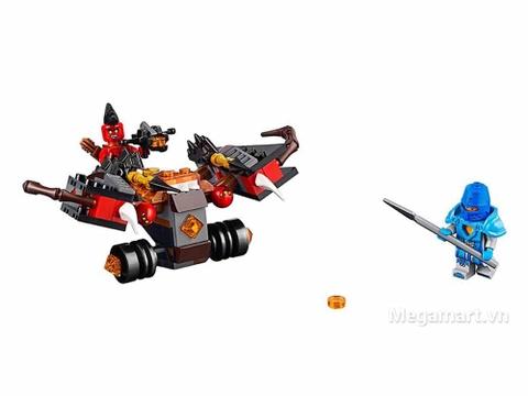 Lego Nexo Knights 70318 - Xe tấn công quỷ dữ - các chi tiết trong bộ đồ chơi