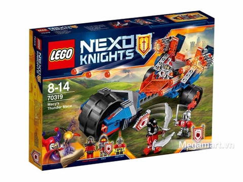 Lego Nexo Knights 70319 - Chùy sấm sét của Macy - ảnh bìa sản phẩm